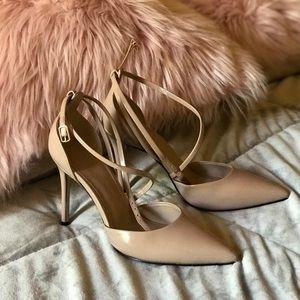 Guess Bizzy Strappy Pointed Pumps - size 5.5